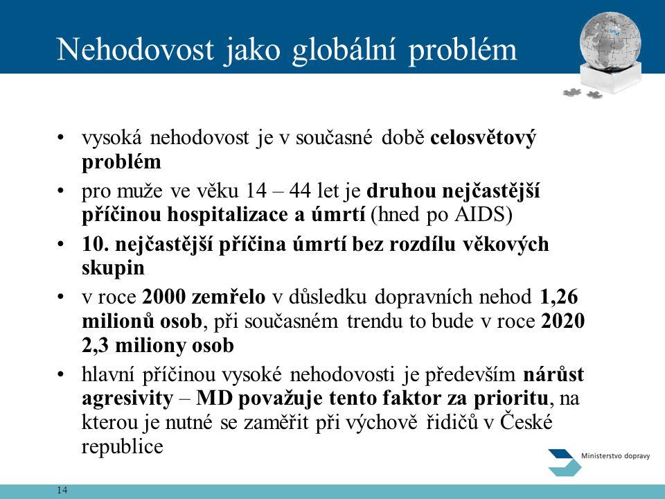 Nehodovost jako globální problém