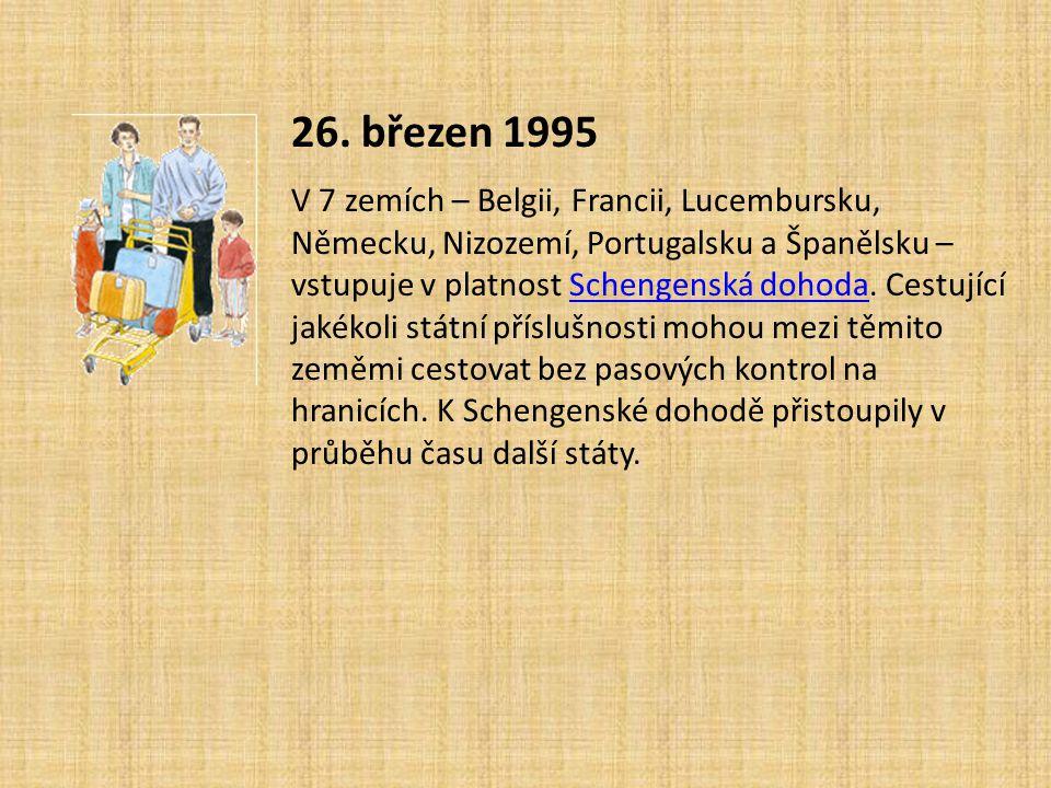 26. březen 1995