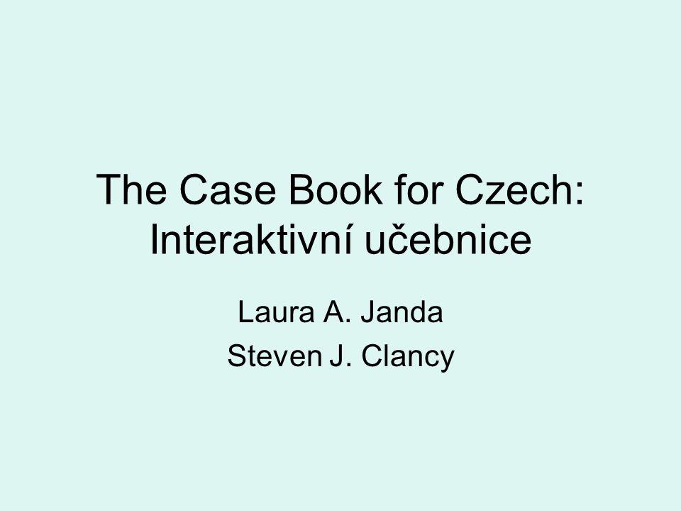 The Case Book for Czech: Interaktivní učebnice