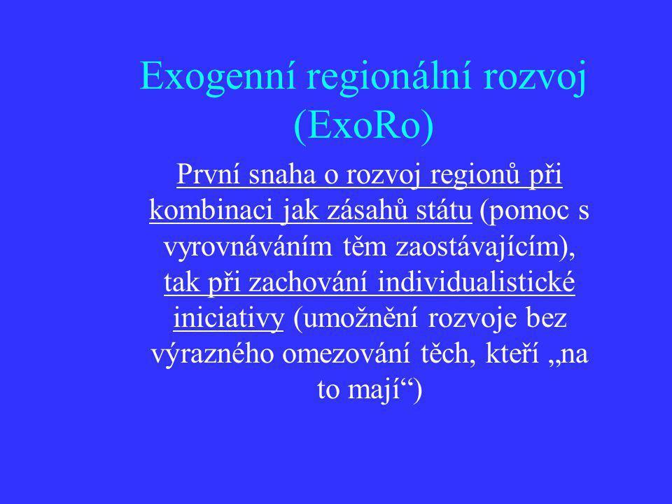 Exogenní regionální rozvoj (ExoRo)