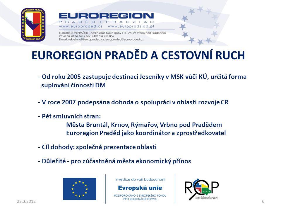 Euroregion Praděd a cestovní ruch