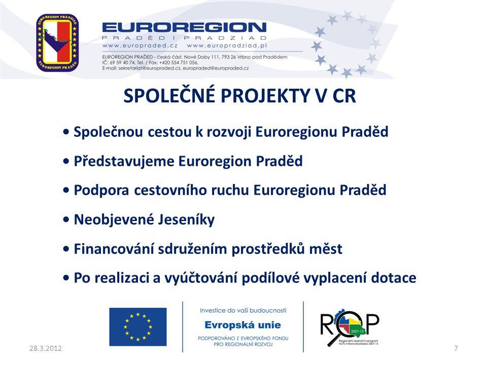 Společné projekty v CR