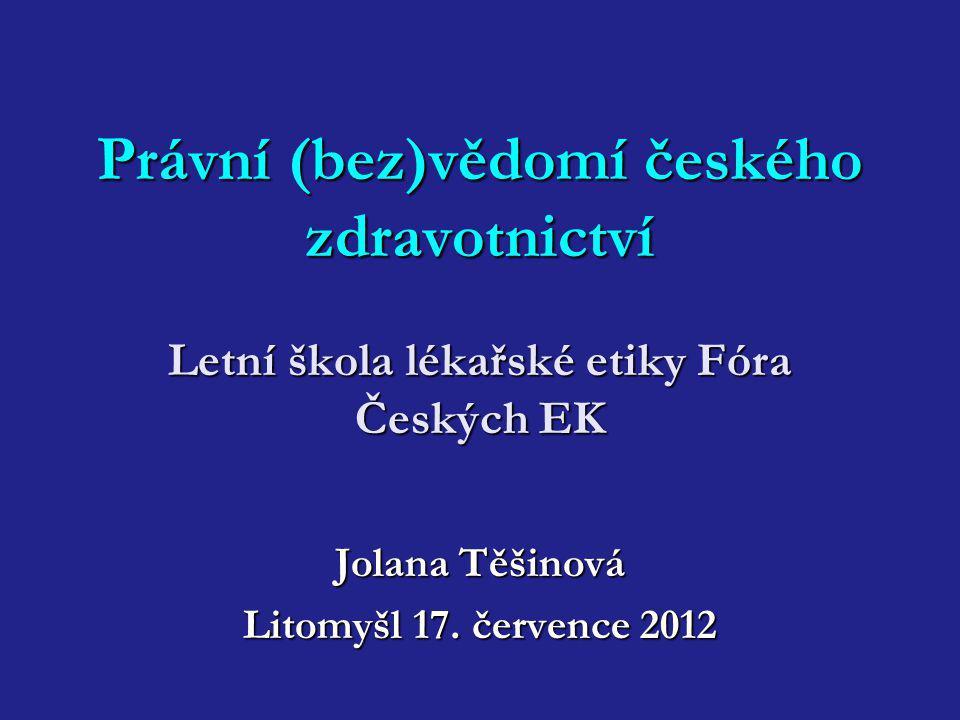 Jolana Těšinová Litomyšl 17. července 2012
