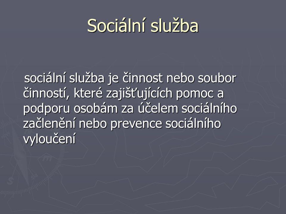 Sociální služba