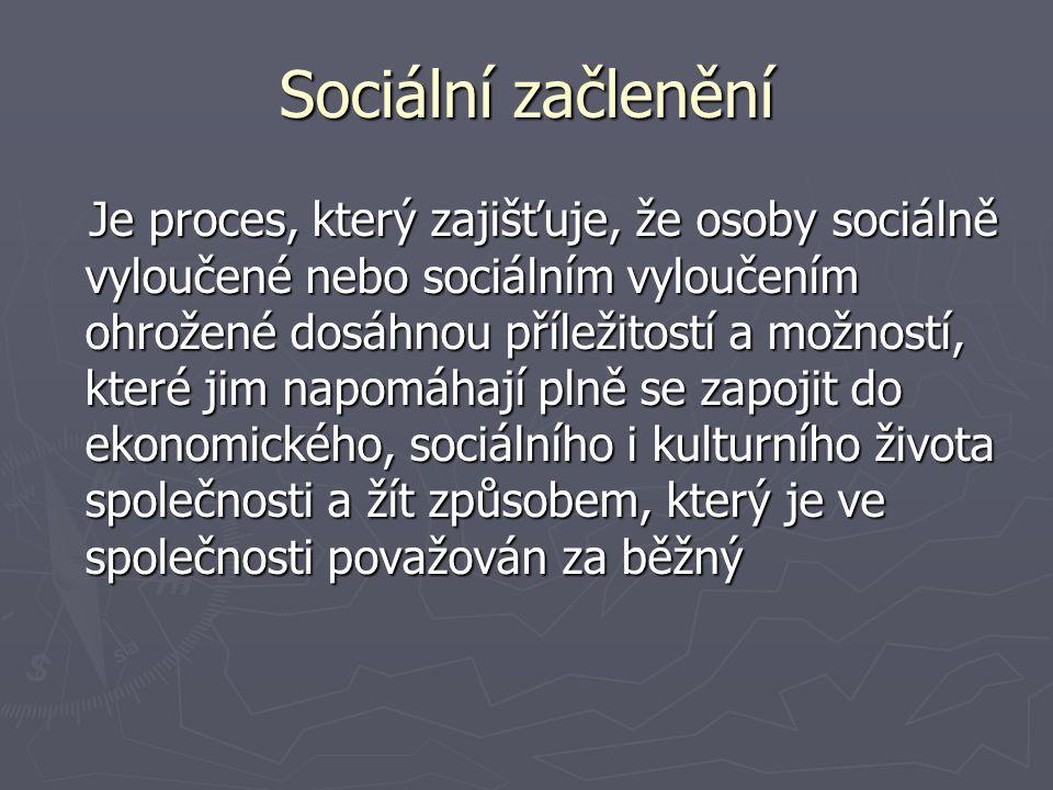 Sociální začlenění