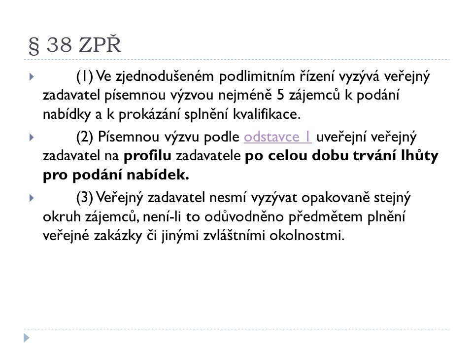 § 38 ZPŘ