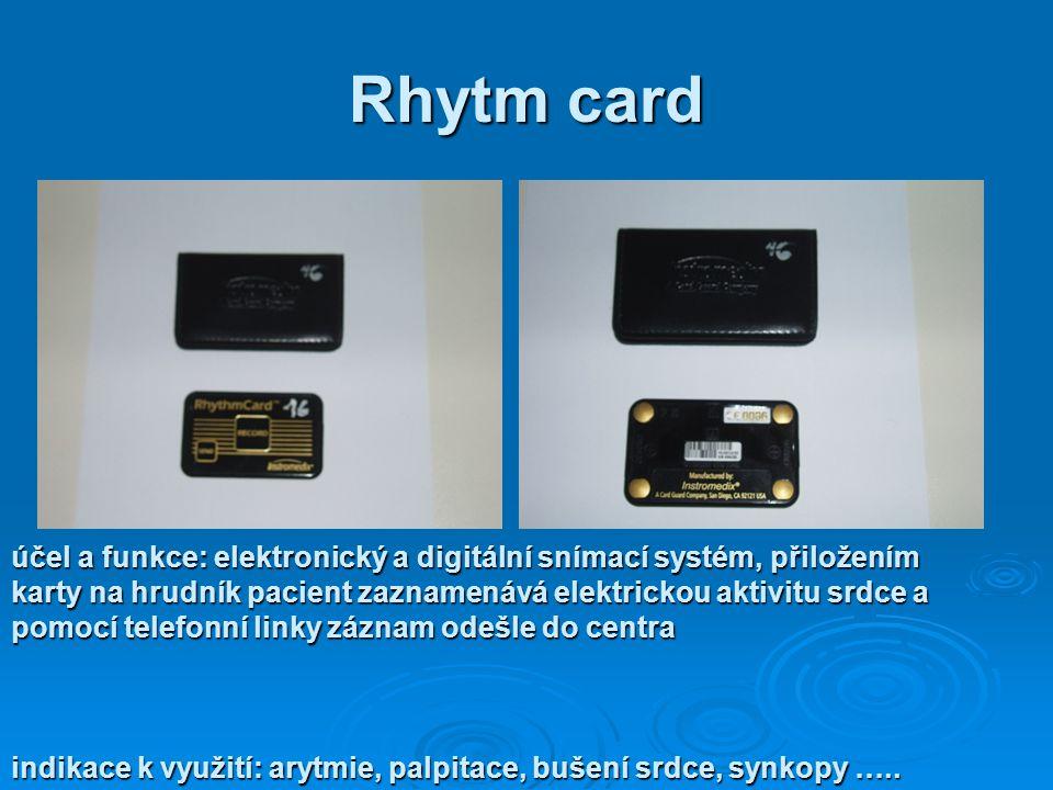 Rhytm card