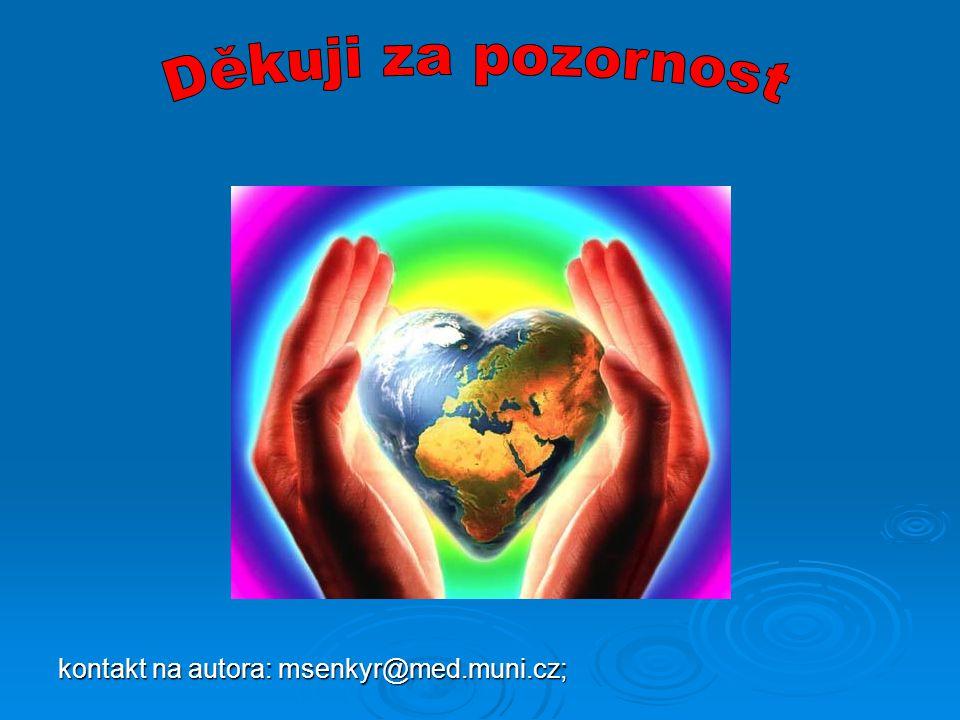 Děkuji za pozornost kontakt na autora: msenkyr@med.muni.cz;