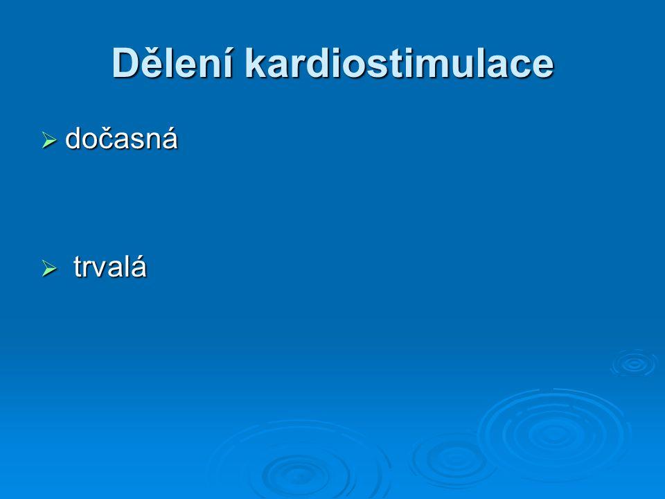Dělení kardiostimulace