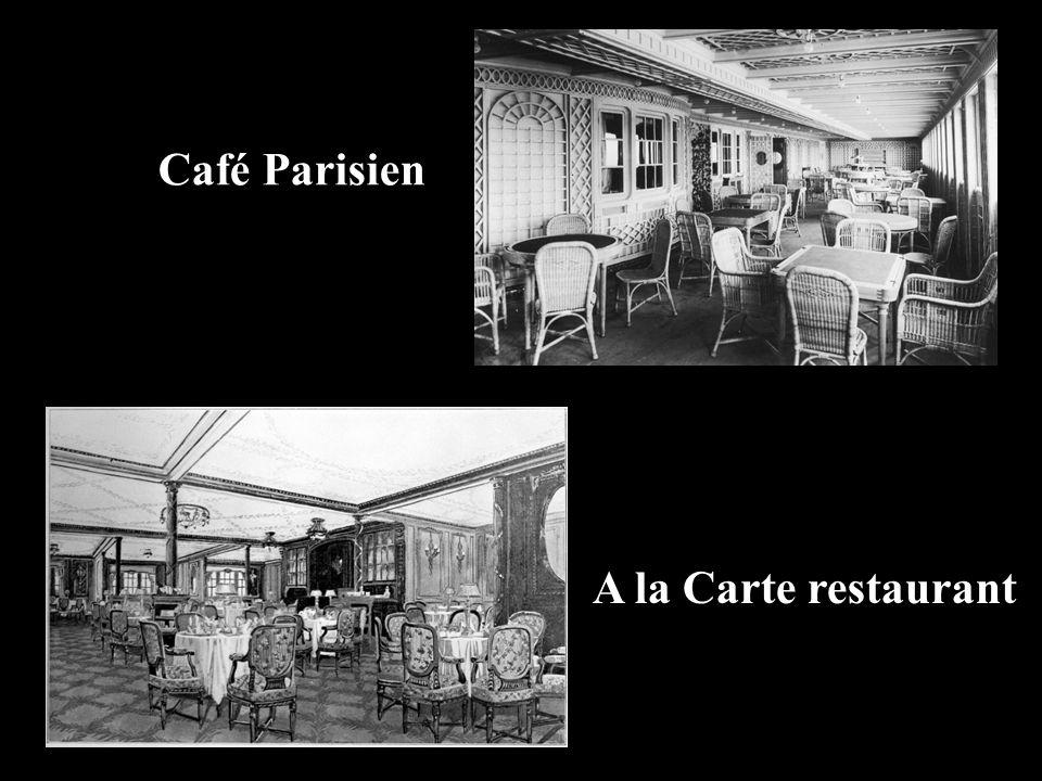 Café Parisien A la Carte restaurant