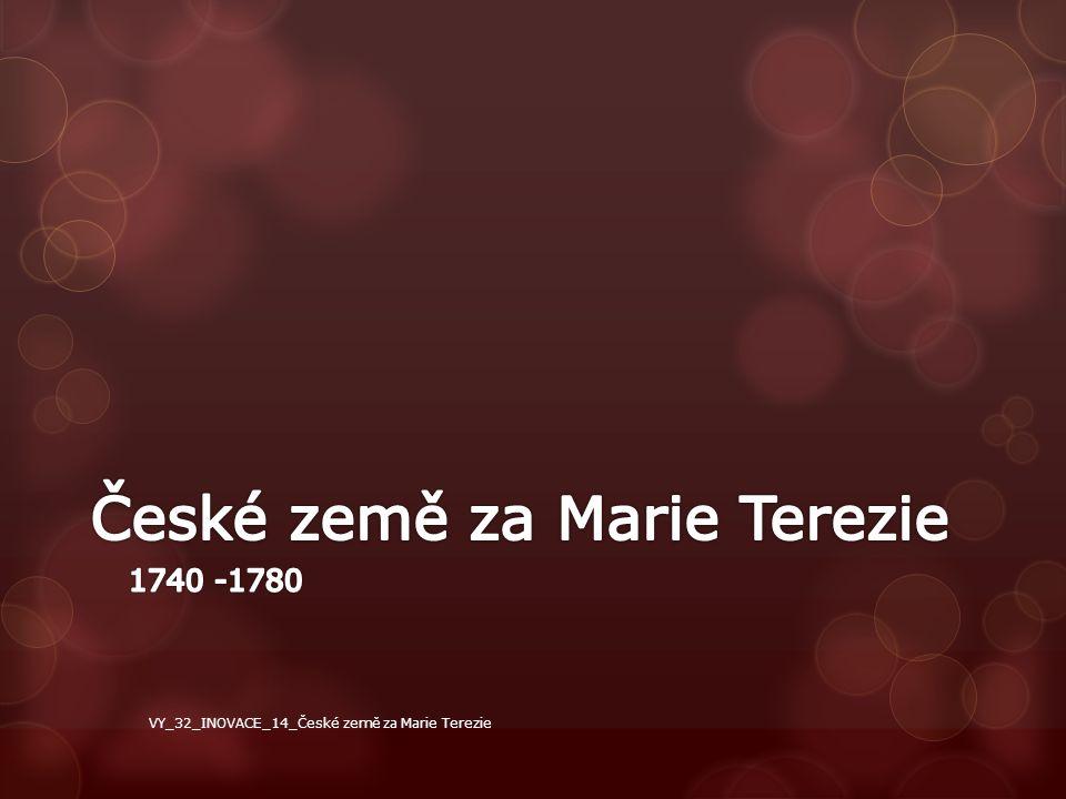 České země za Marie Terezie