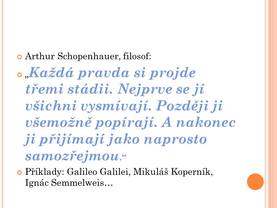 Arthur Schopenhauer, filosof: