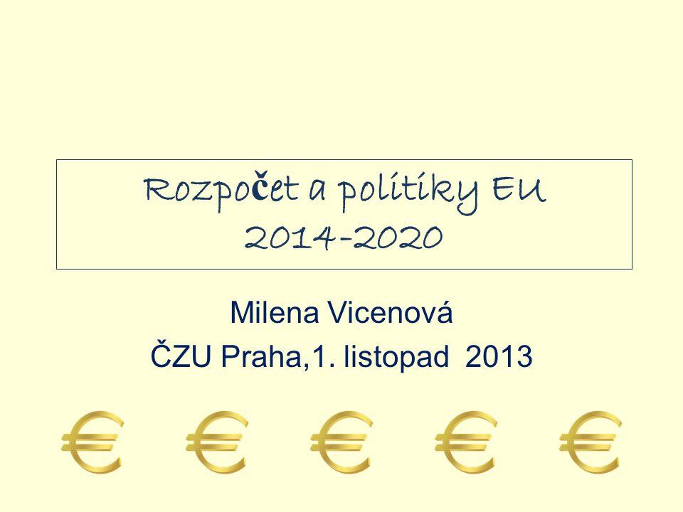 Rozpočet a politiky EU 2014-2020