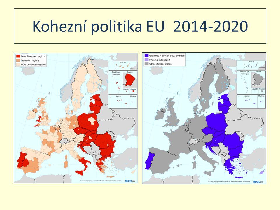 Kohezní politika EU 2014-2020