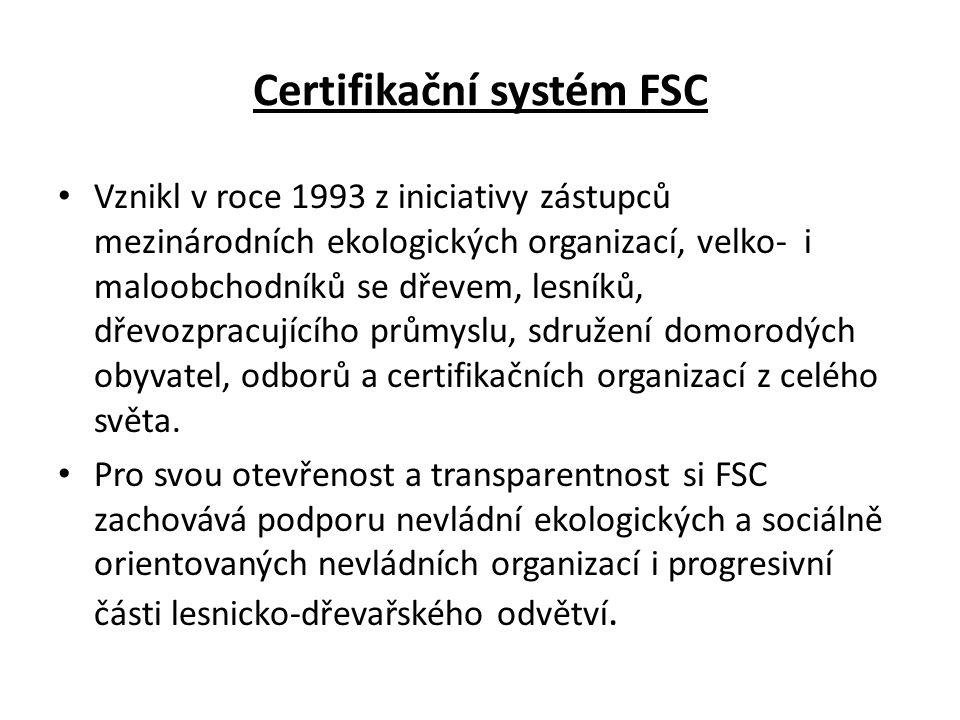 Certifikační systém FSC
