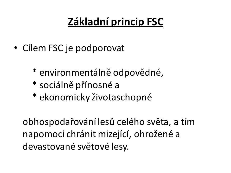 Základní princip FSC