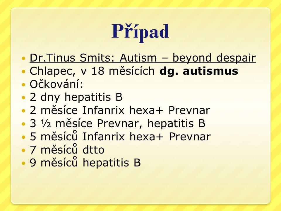 Případ Dr.Tinus Smits: Autism – beyond despair