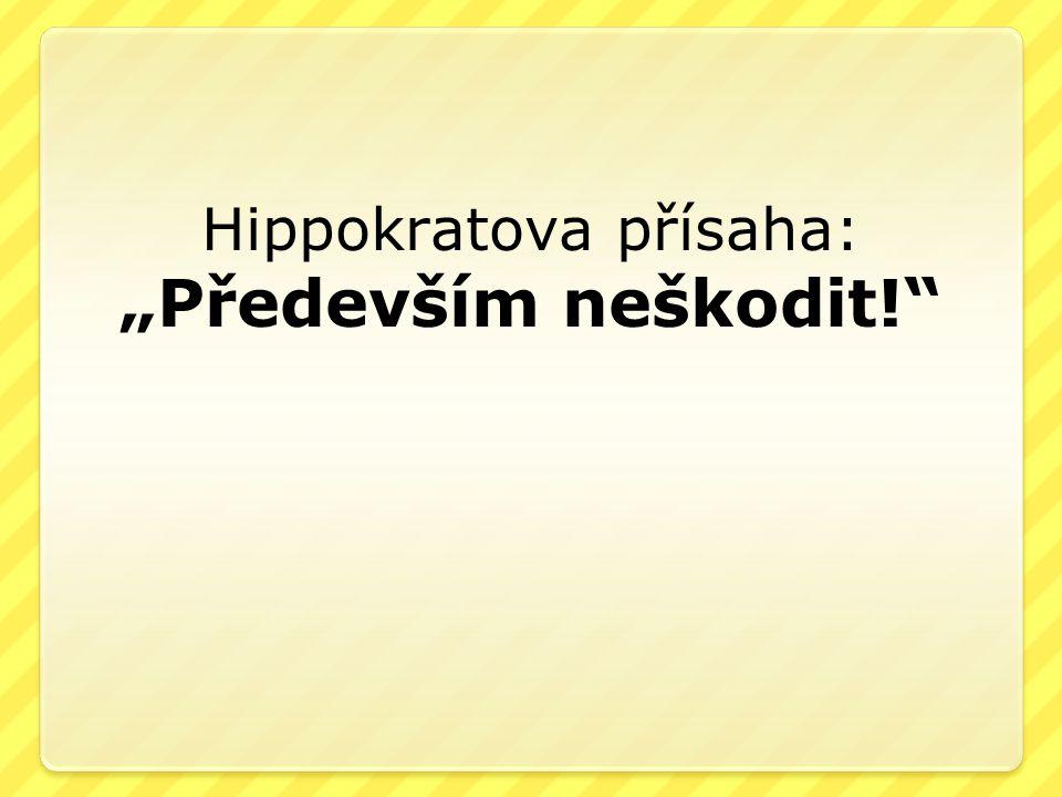 Hippokratova přísaha: