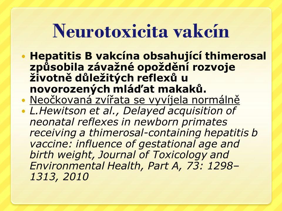Neurotoxicita vakcín