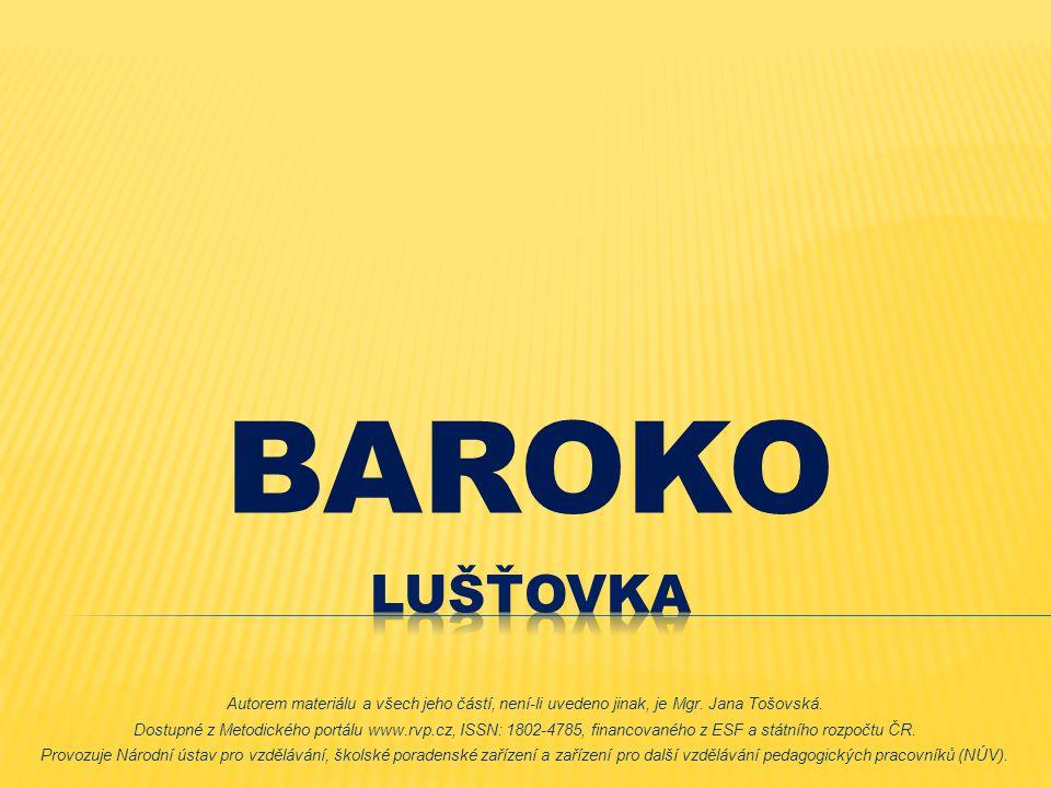 BAROKO Lušťovka.