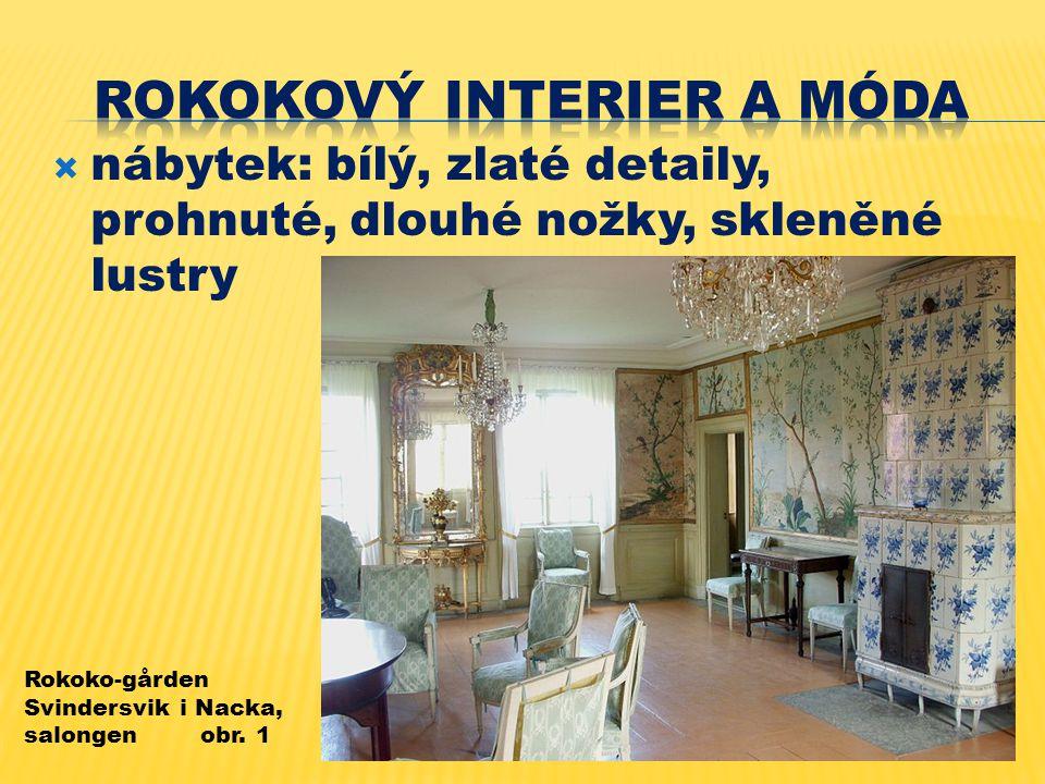 Rokokový interier a móda