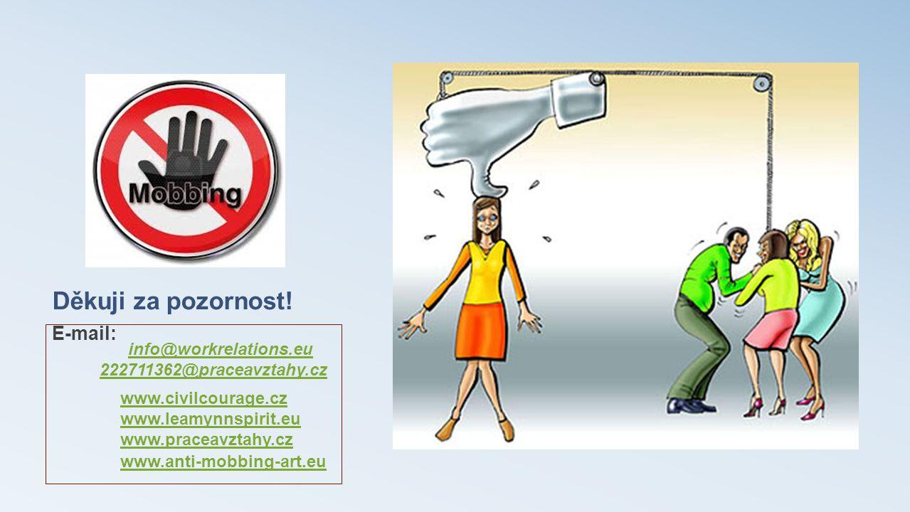 Děkuji za pozornost! E-mail: info@workrelations.eu