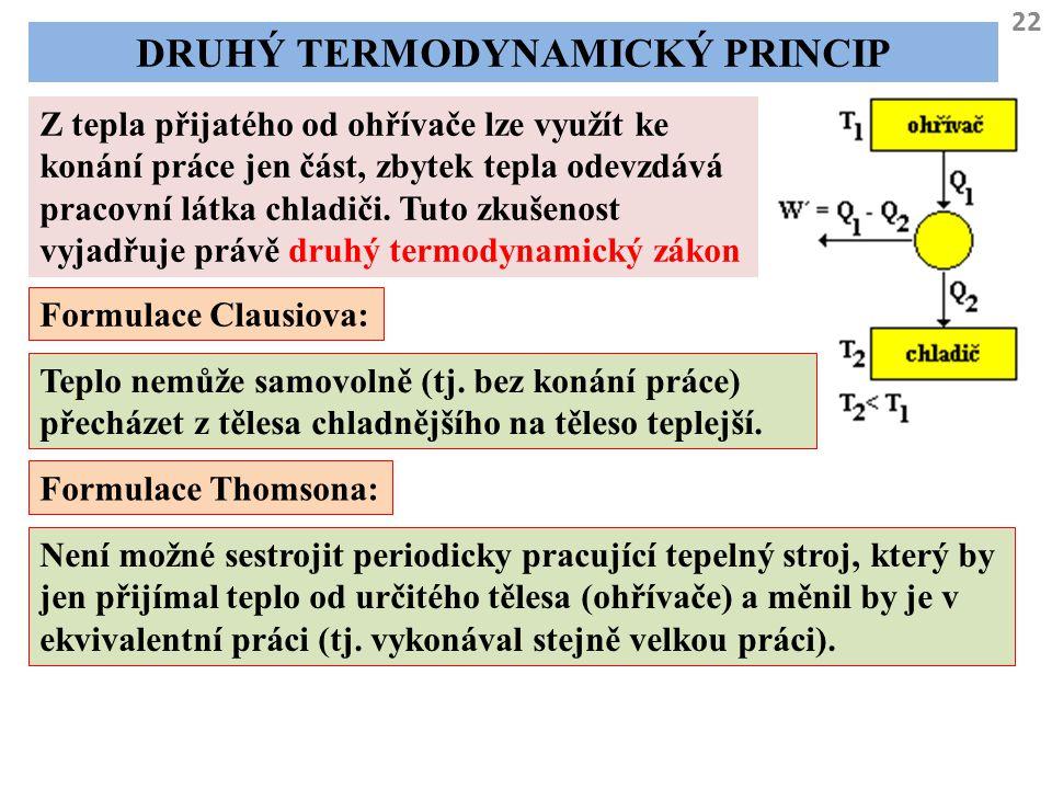 Druhý termodynamický princip