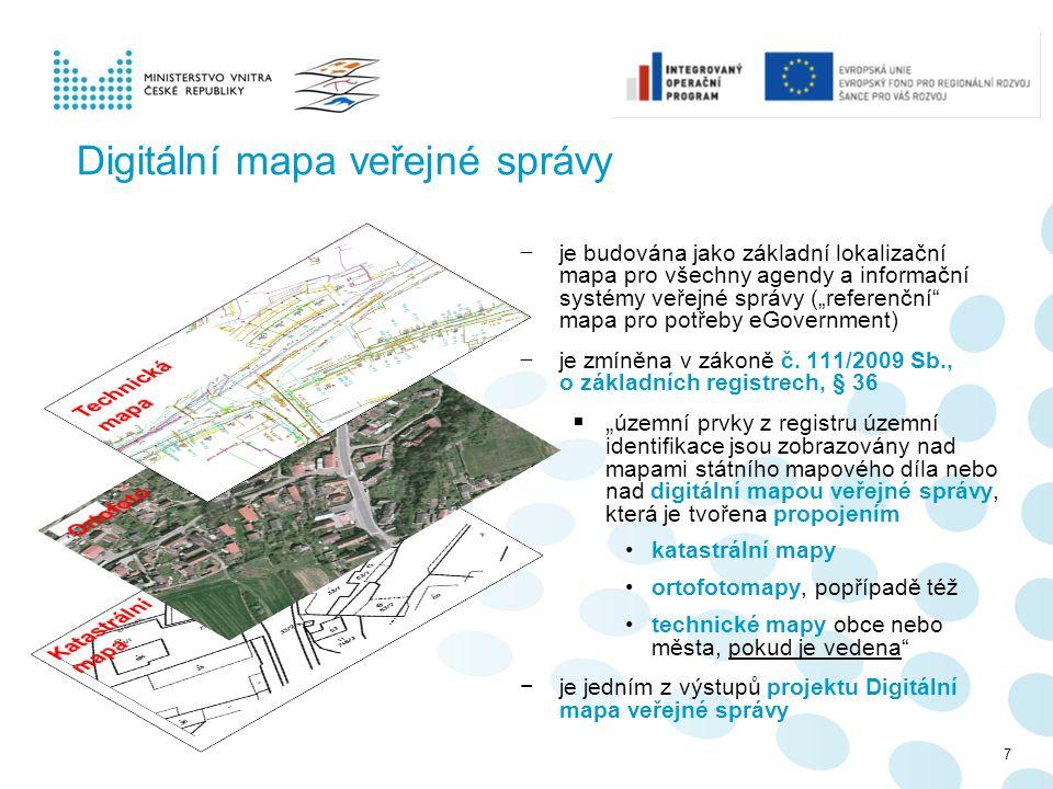 Digitální mapa veřejné správy