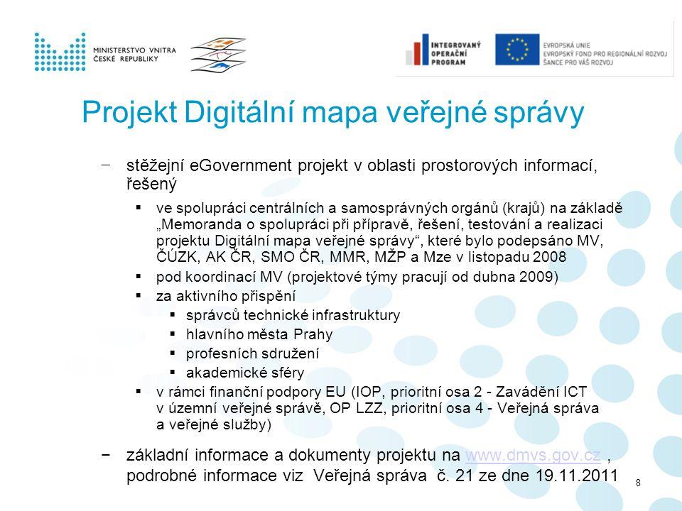 Projekt Digitální mapa veřejné správy