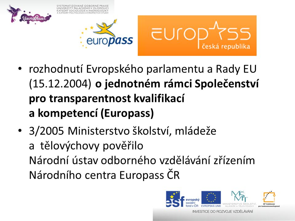 rozhodnutí Evropského parlamentu a Rady EU (15. 12