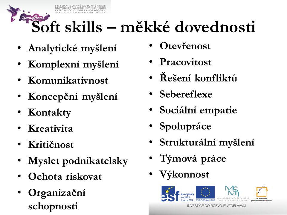 Soft skills – měkké dovednosti