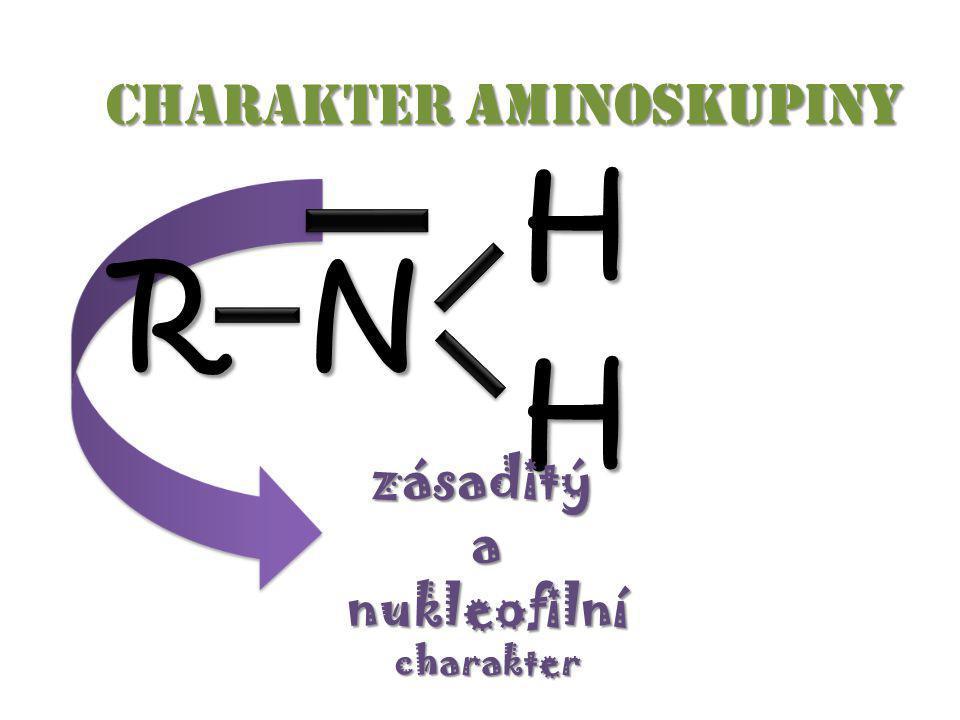 Charakter aminoskupiny