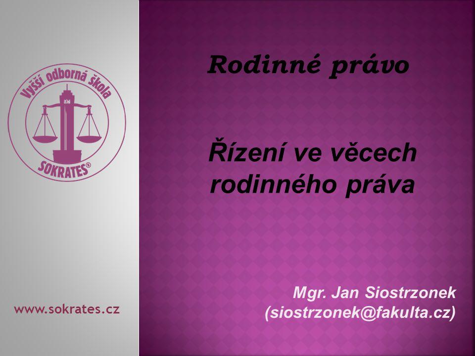 Mgr. Jan Siostrzonek (siostrzonek@fakulta.cz)