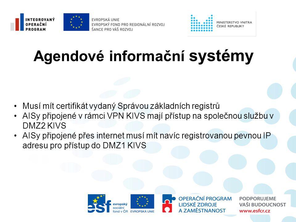 Agendové informační systémy