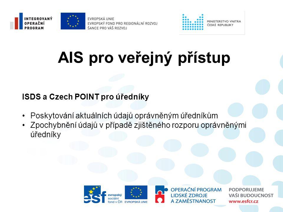 AIS pro veřejný přístup