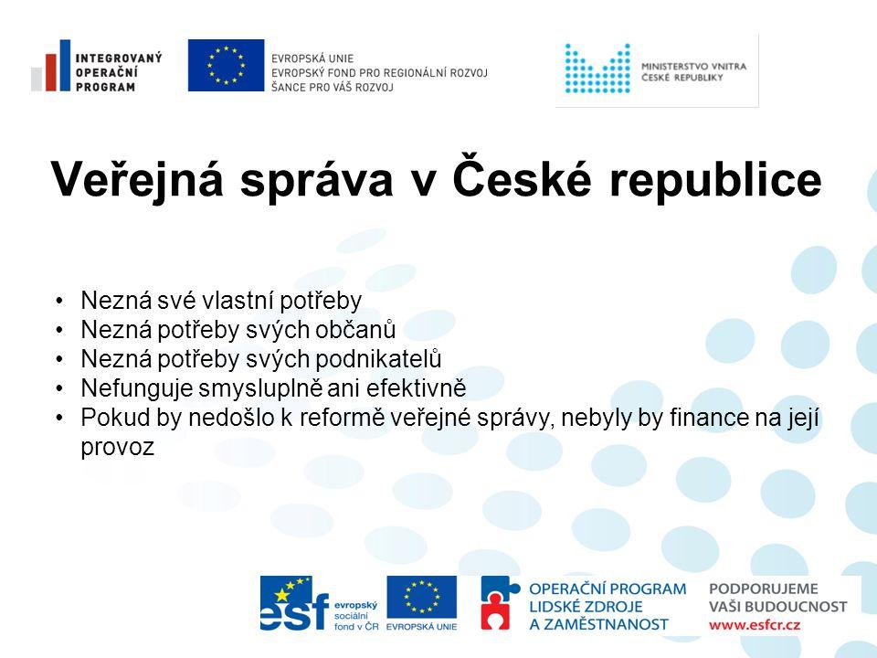 Veřejná správa v České republice