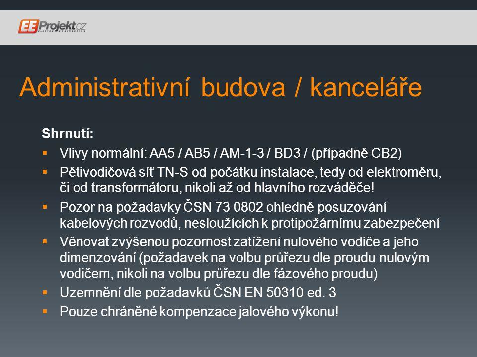 Administrativní budova / kanceláře
