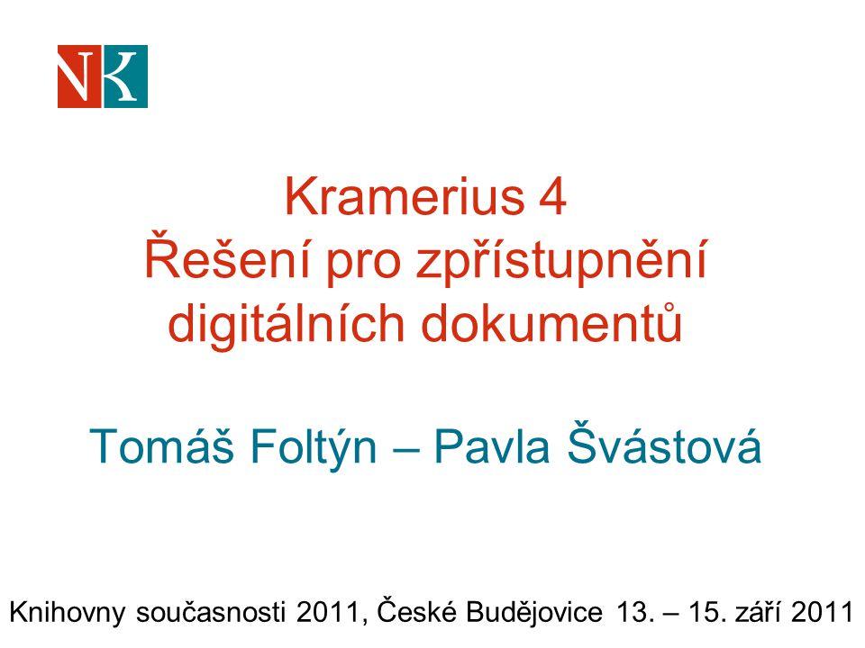 Knihovny současnosti 2011, České Budějovice 13. – 15. září 2011