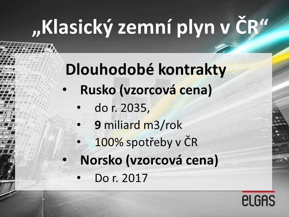 """""""Klasický zemní plyn v ČR"""