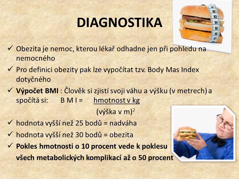 DIAGNOSTIKA Obezita je nemoc, kterou lékař odhadne jen při pohledu na nemocného.