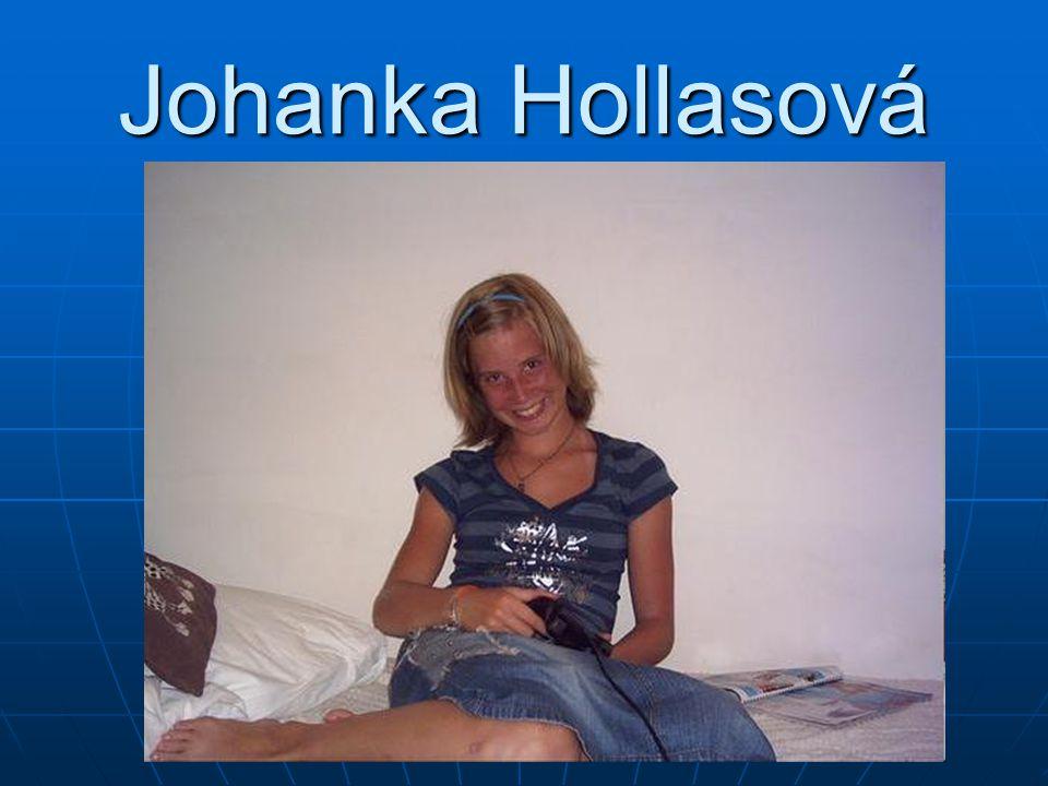 Johanka Hollasová