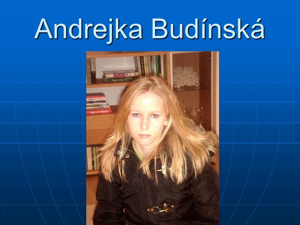 Andrejka Budínská
