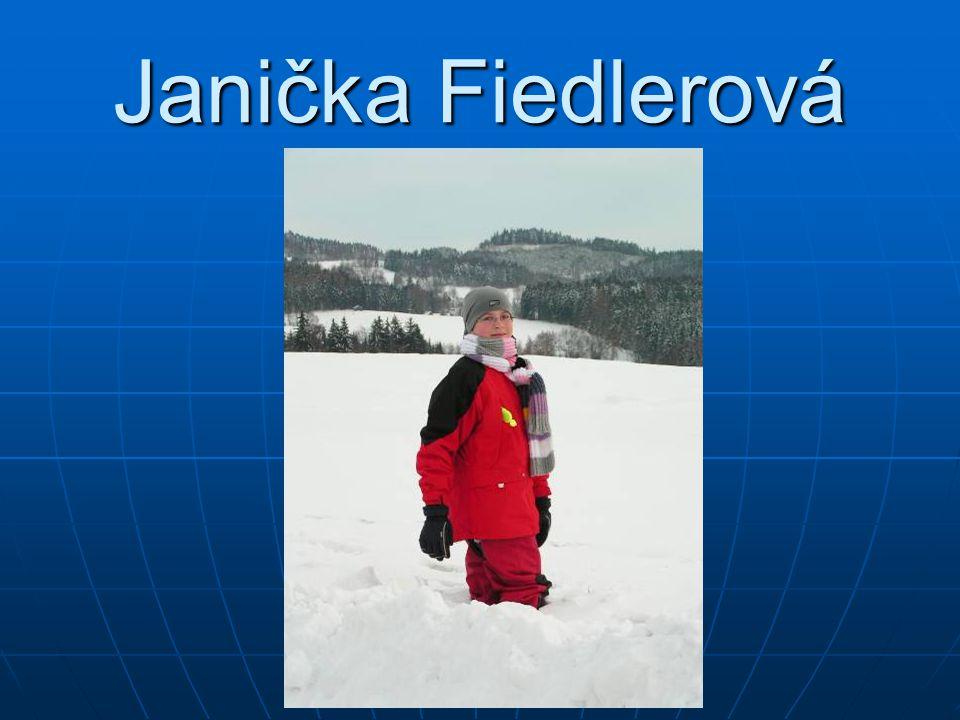 Janička Fiedlerová