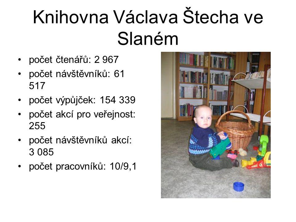 Knihovna Václava Štecha ve Slaném