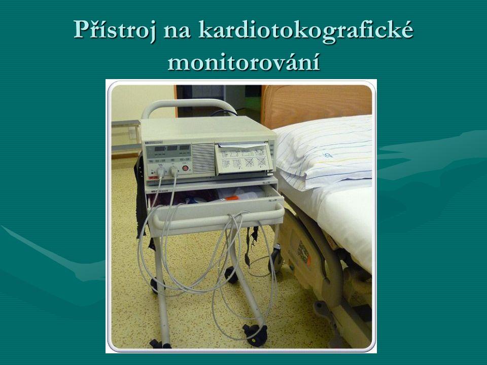 Přístroj na kardiotokografické monitorování