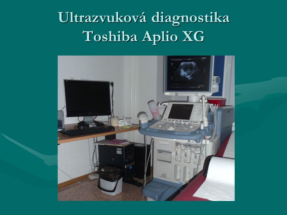 Ultrazvuková diagnostika Toshiba Aplio XG