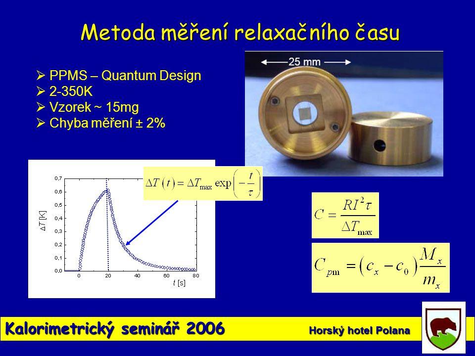 Metoda měření relaxačního času