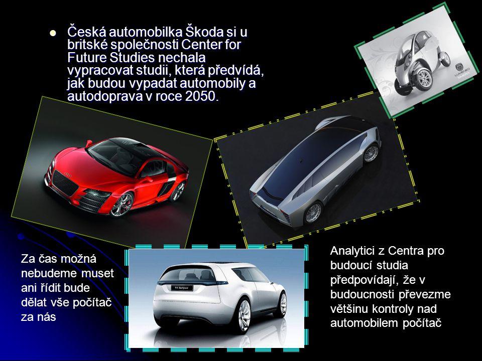 Česká automobilka Škoda si u britské společnosti Center for Future Studies nechala vypracovat studii, která předvídá, jak budou vypadat automobily a autodoprava v roce 2050.