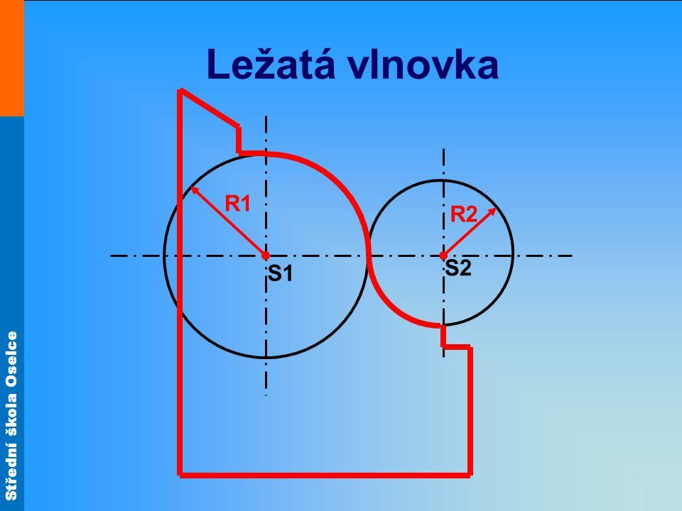 Ležatá vlnovka R1 R2 S2 S1