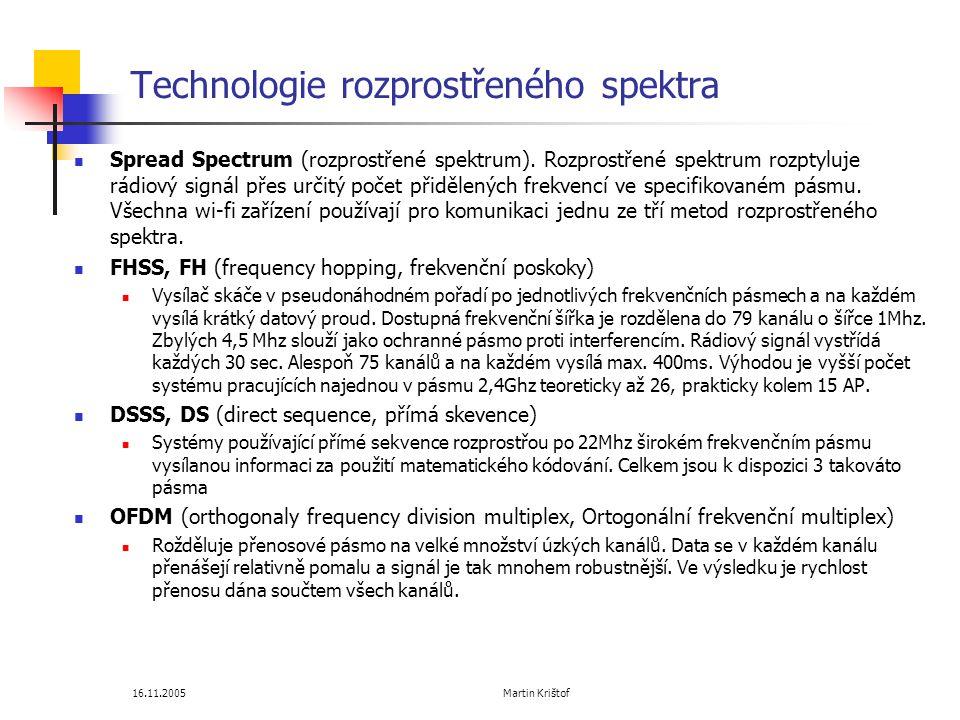 Technologie rozprostřeného spektra